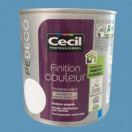 CECIL PE DECO Peinture Finition Couleur Satin Blue Jean