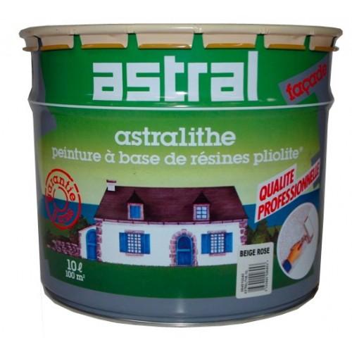 Astral astralithe fa ade 10l beige rose pas cher en ligne for Peinture satinee algerie prix