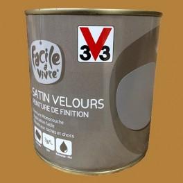 Peinture Murale Et Boiserie V33 Facile à Vivre Caramel Satin Velours