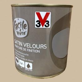 Peinture Murale Et Boiserie V33 Facile à Vivre Praliné Satin