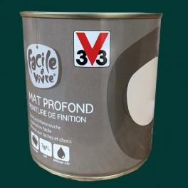 Peinture Murale Et Boiserie V33 Facile à Vivre Vert Sapin Mat Profond