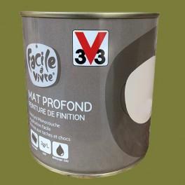 Peinture Murale Et Boiserie V33 Facile A Vivre Olive Mat Profond