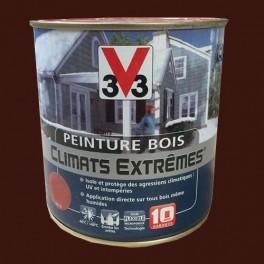 Peinture Bois V33 Climats Extrêmes Satin Terre de Sienne