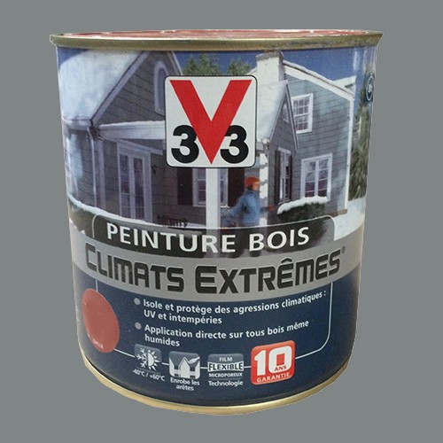 peinture bois v33 climats extr mes brillant galet pas cher en ligne. Black Bedroom Furniture Sets. Home Design Ideas