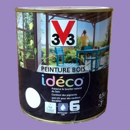 Peinture bois V33 Idéco Clématite Satin