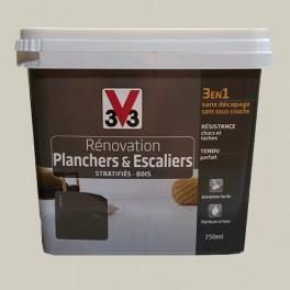 Peinture V33 Rénovation Planchers & Escaliers (Stratifiés-Bois) Raphia