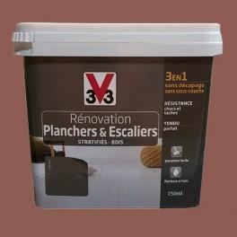 Peinture V33 Rénovation Planchers & Escaliers (Stratifiés-Bois) Terracotta