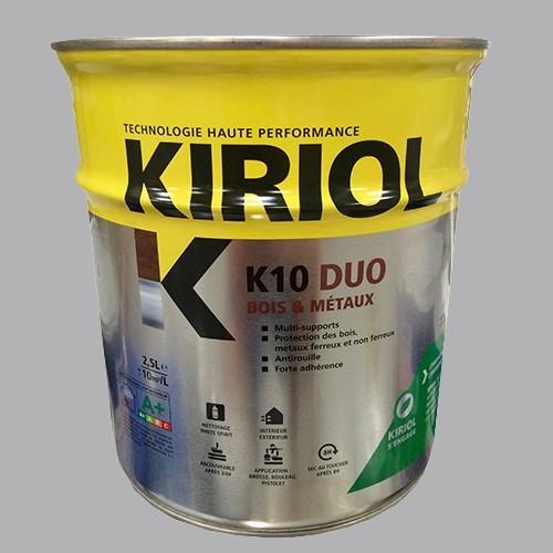 peinture kiriol k10 duo gris pas cher en ligne partir. Black Bedroom Furniture Sets. Home Design Ideas