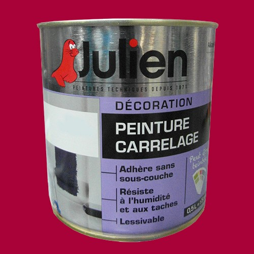 peinture acrylique carrelage julien griotte 0 5l brillant peinture destock. Black Bedroom Furniture Sets. Home Design Ideas