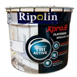 Ripolin xpro3 tri active sous couche universelle blanc mat for Technique peinture plafond sans trace
