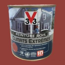 Peinture Bois V33 Climats Extrêmes Brillant Terre d'ocre