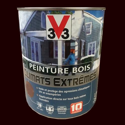peinture bois v33 climats extr mes brillant terre d 39 ombre pas cher en ligne. Black Bedroom Furniture Sets. Home Design Ideas