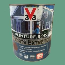 Peinture Bois V33 Climats Extrêmes Brillant Vert olive