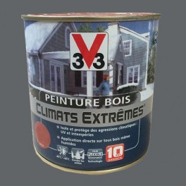 Peinture Bois V33 Climats Extrêmes Brillant Ardoise