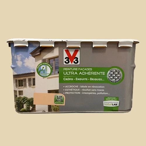 peinture v33 fa ade ultra adh rente ton pierre pas cher en ligne. Black Bedroom Furniture Sets. Home Design Ideas