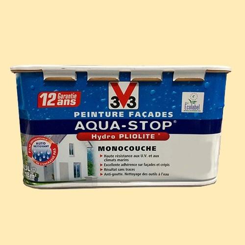 Peinture V33 Façade Aquastop Ton pierre Mat