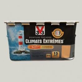 Peinture V33 Façade Climats Extrêmes Meulière