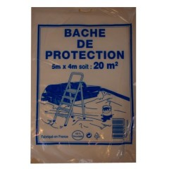 Bâche de protection 5m x 4m