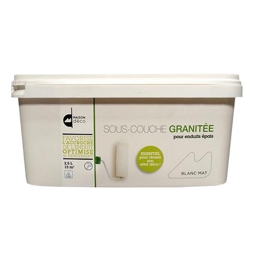 MAISON DÉCO - Sous-couche granitée 2,5L