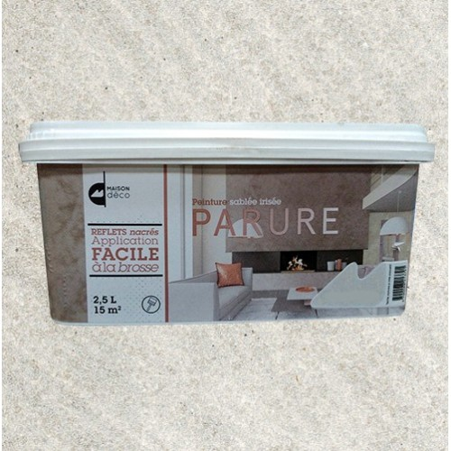 Maison d co parure 2 5l pierre de lune pas cher en ligne for Peinture interieur maison pas cher