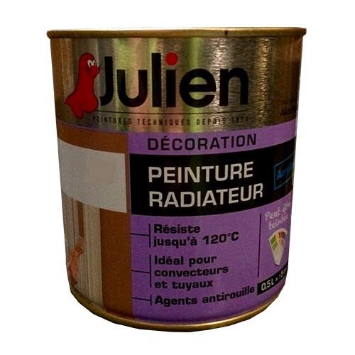 Peinture juilien radiateur blanc brillant pas cher en ligne for Peinture julien radiateur