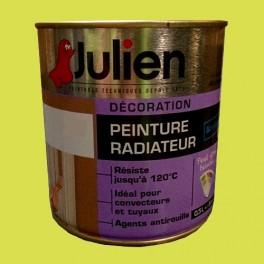 Peinture acrylique Radiateur JULIEN Pomme Satin
