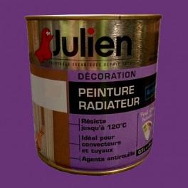Peinture acrylique Radiateur JULIEN Prune Satin
