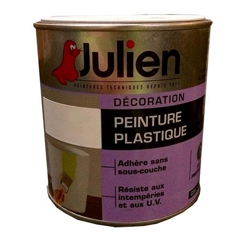 Peinture Plastique Julien Blanc Satin Pas Cher En Ligne