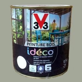 Peinture bois V33 Idéco Sauge Satin
