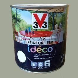 Peinture fer V33 Idéco Sauge Satin