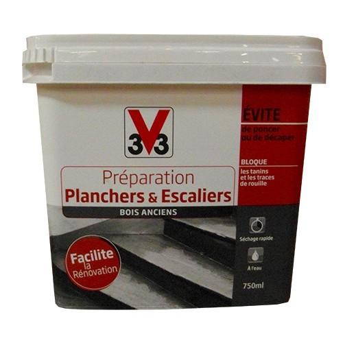 V33 Préparation Planchers & Escaliers (Bois anciens)
