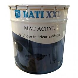 Bati Xxl Mat Acryl 15l Blanc Pas Cher En Ligne