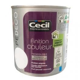 CECIL Peinture PE DECO Finition Couleur Mat Blanc
