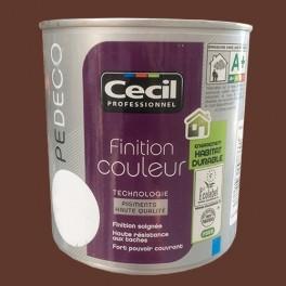 CECIL Peinture PE DECO Finition Couleur Mat Terracotta