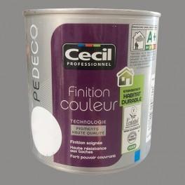 CECIL Peinture PE DECO Finition Couleur Mat Poivre et sel