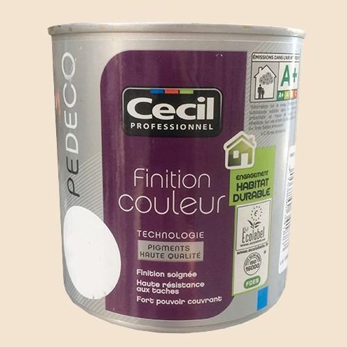 CECIL Peinture PE DECO Finition Couleur Mat Fleur de coton