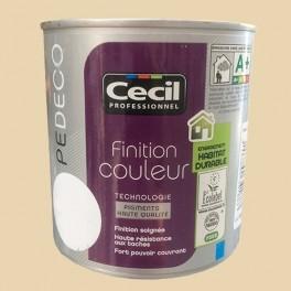 CECIL Peinture PE DECO Finition Couleur Mat Cassonade