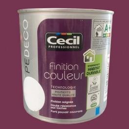 CECIL Peinture PE DECO Finition Couleur Mat Prune