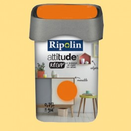 RIPOLIN Peinture Attitude Récup' Jaune tendre satin 0,75L