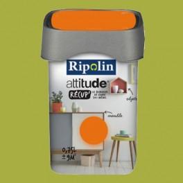 RIPOLIN Peinture Attitude Récup' Vert granny satin 0,75L