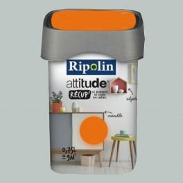 RIPOLIN Peinture Attitude Récup' Gris tendre satin 0,75L