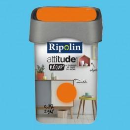 RIPOLIN Peinture Attitude Récup' Bleu seventies satin 0,75L