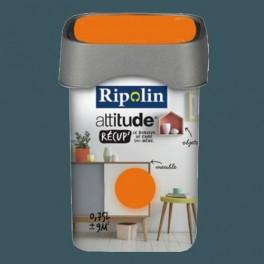 RIPOLIN Peinture Attitude Récup' Bleu minéral satin 0,75L