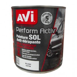 AVI Peinture Perform Activ Sol Blanc Satin