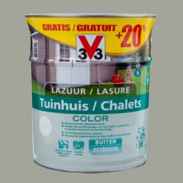 V33 Lasure Chalets Color 3L Moonstone