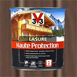 V33 Lasure Haute protection 8ans Chêne foncé