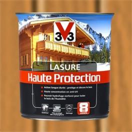 V33 Lasure Haute protection 8ans Merisier