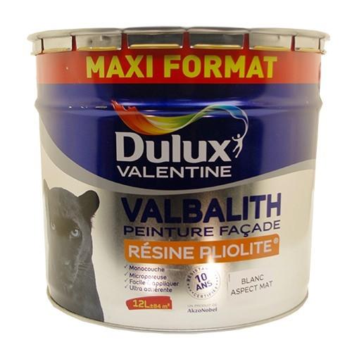 Dulux Valentine Peinture Facade Valbalith 12l Blanc Pas Cher En Ligne
