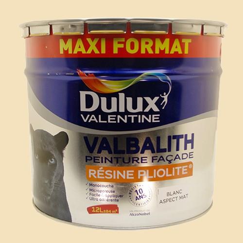 Dulux Valentine Peinture Façade Valbalith 12l Ton Pierre Pas Cher En
