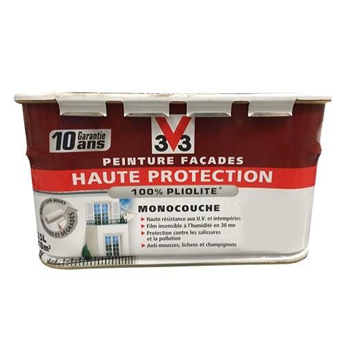 Peinture V33 Façade Haute Protection Blanc